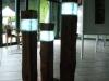 Holzlampe Rustikal LED