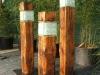 Holzlampe Rustikal